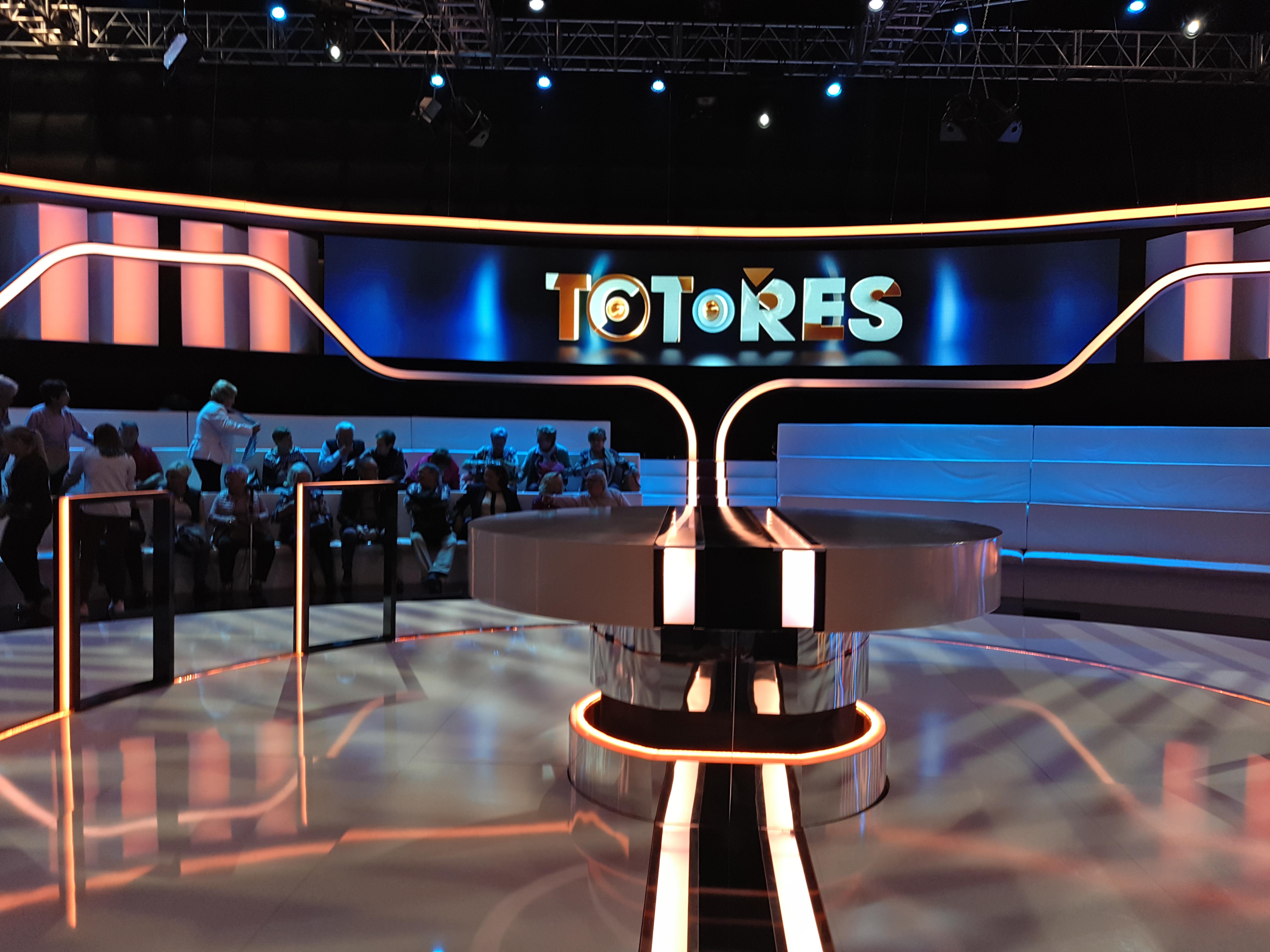 Els alumnes van assistir de públic al programa de TV3 Tot o res protagonitzat per Ares Teixidó