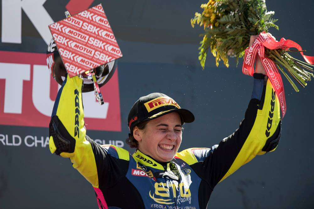 Ana Carrasco guanya a Portimao