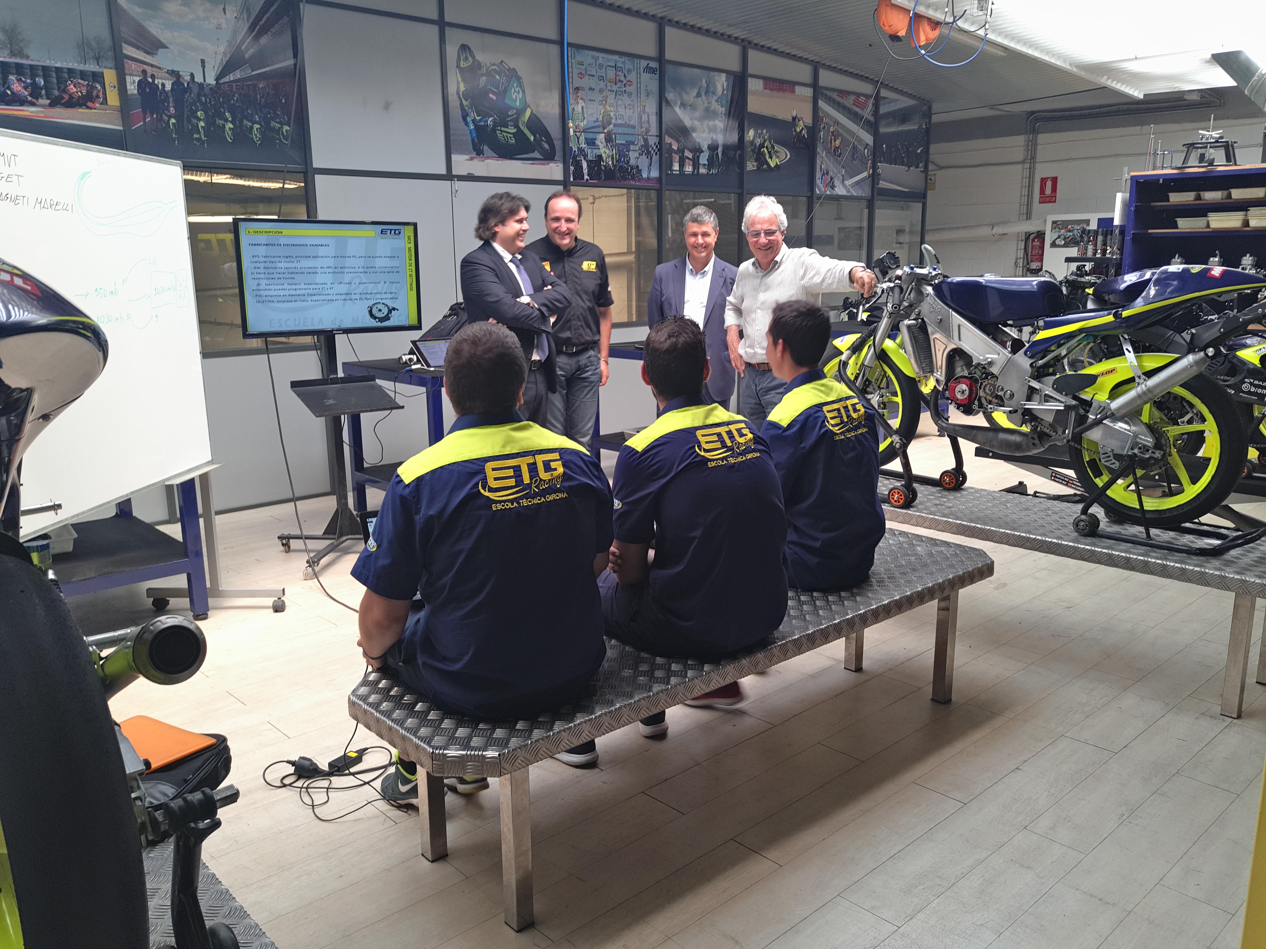 hem rebut la visita del president de la Diputació de Girona