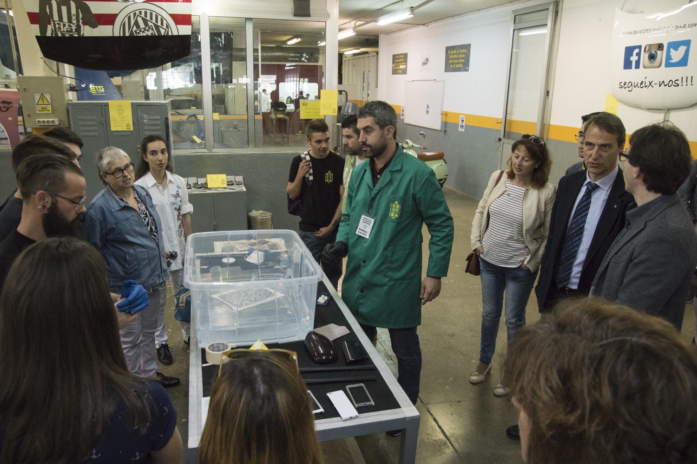 L'escola Tècnica Girona va organitzar la jornada de portes obertes el passat 7 de maig
