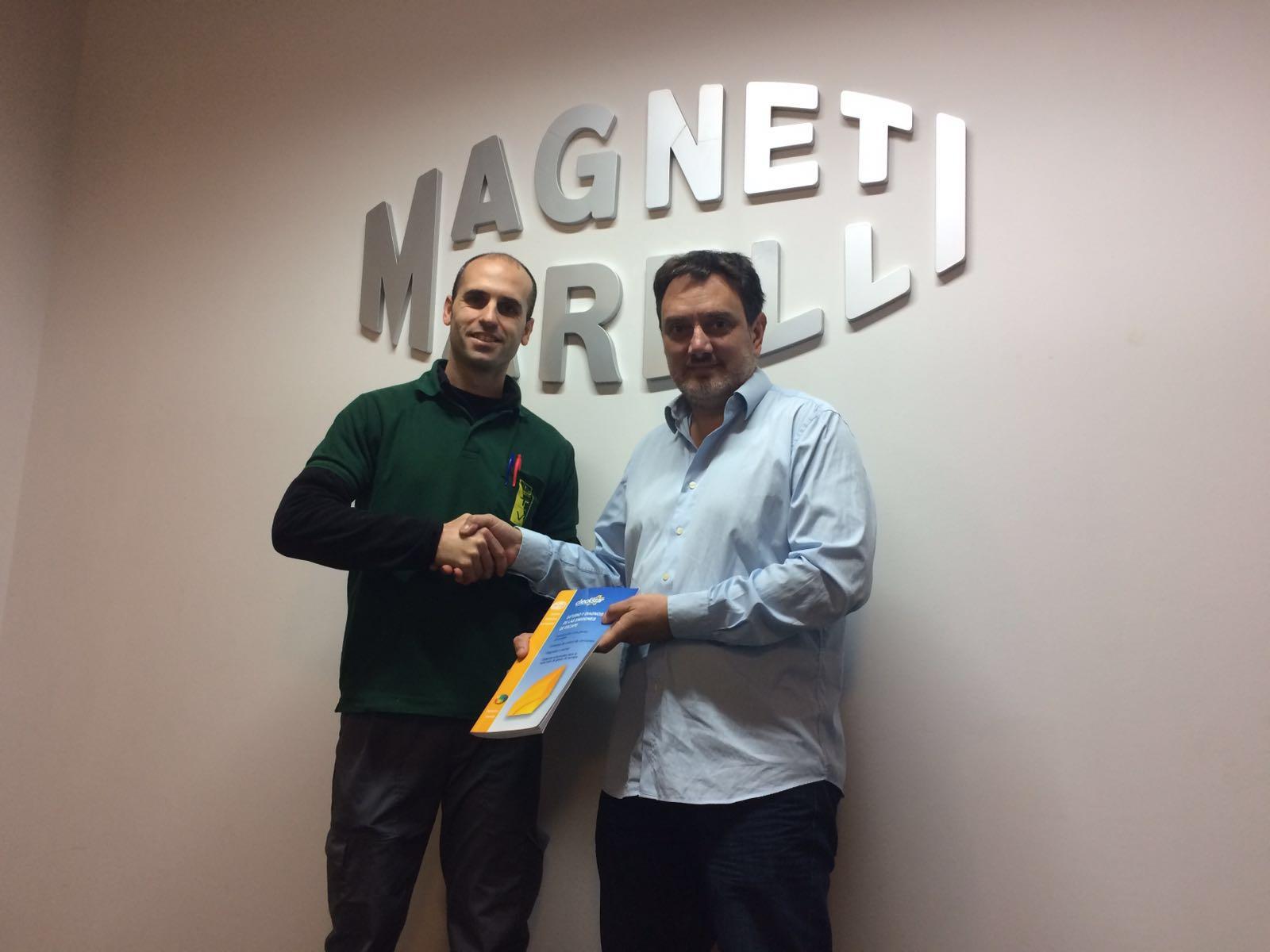La empresa MAGNETI MARELL cede parte de su material