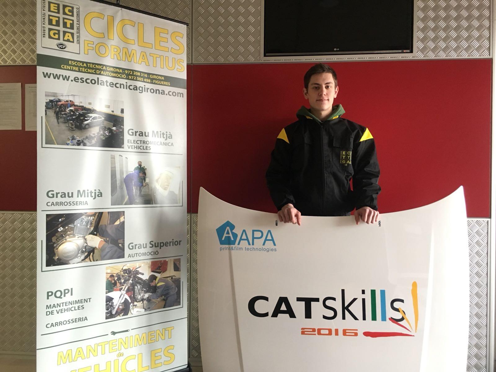 Els nostres alumnes presenten les candidatures pel CatSkills