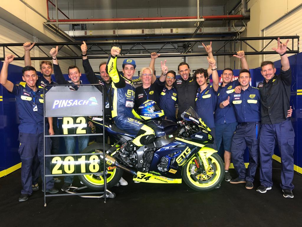 Xavi Pinsach subcampió d'Espanya de Stock 1000!