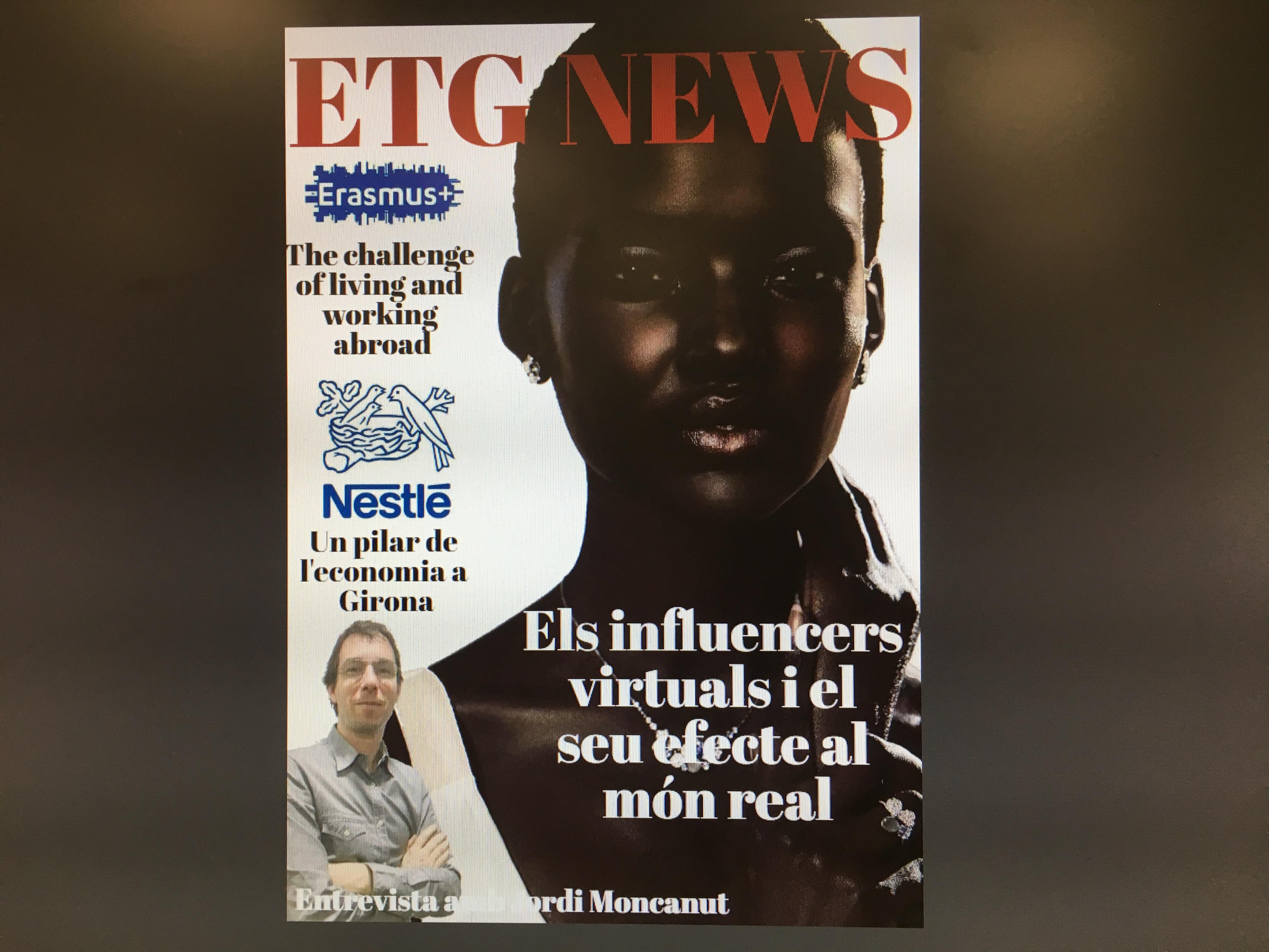 La revista ETG News, una realitat!
