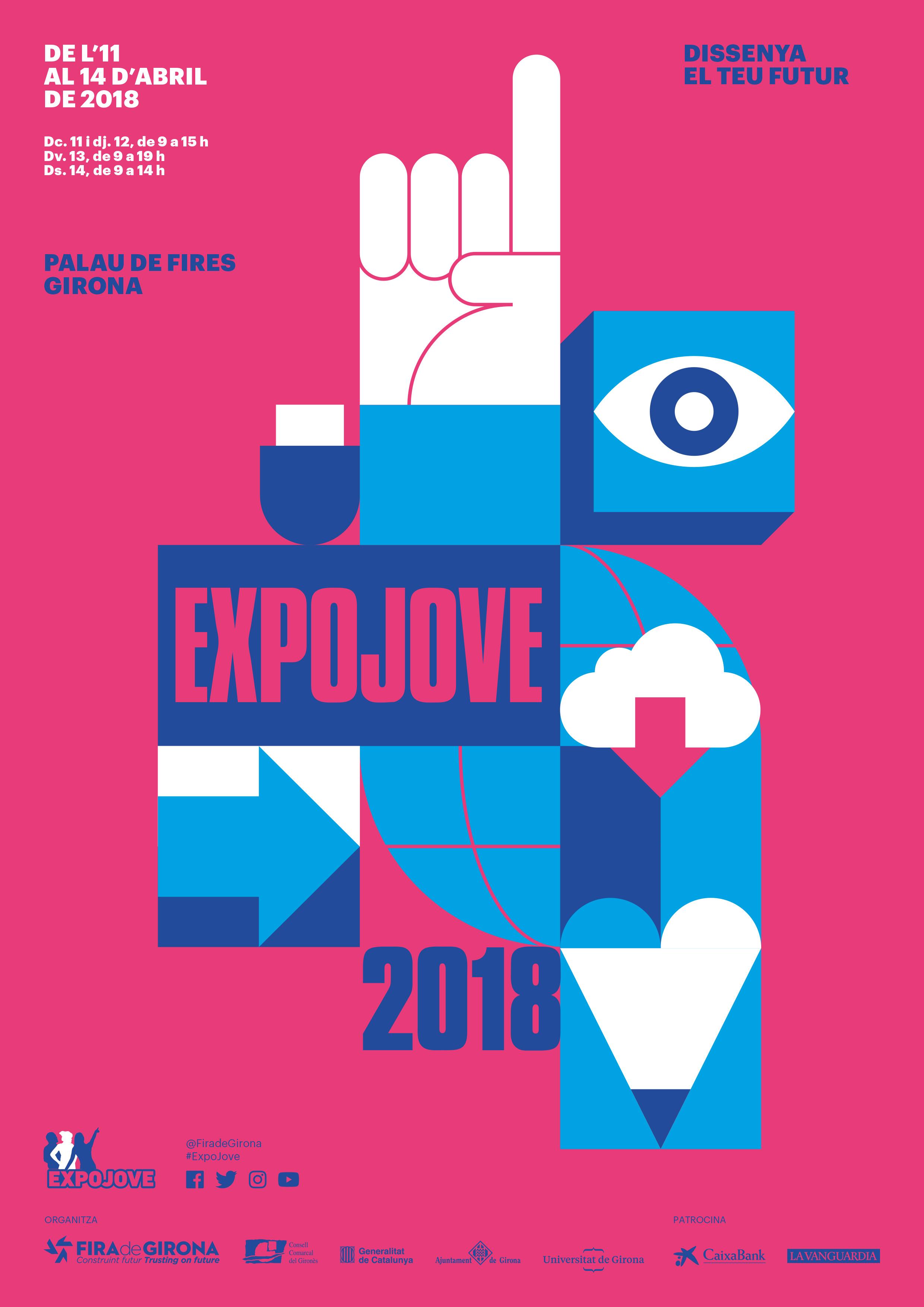 Des del dimecres i fins dissabte ens trobareu al Palau de Fires de Girona en l'ExpoJove 2018