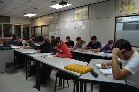 Final del curs d'Industria i examen pel certificat  Responsable de Taller