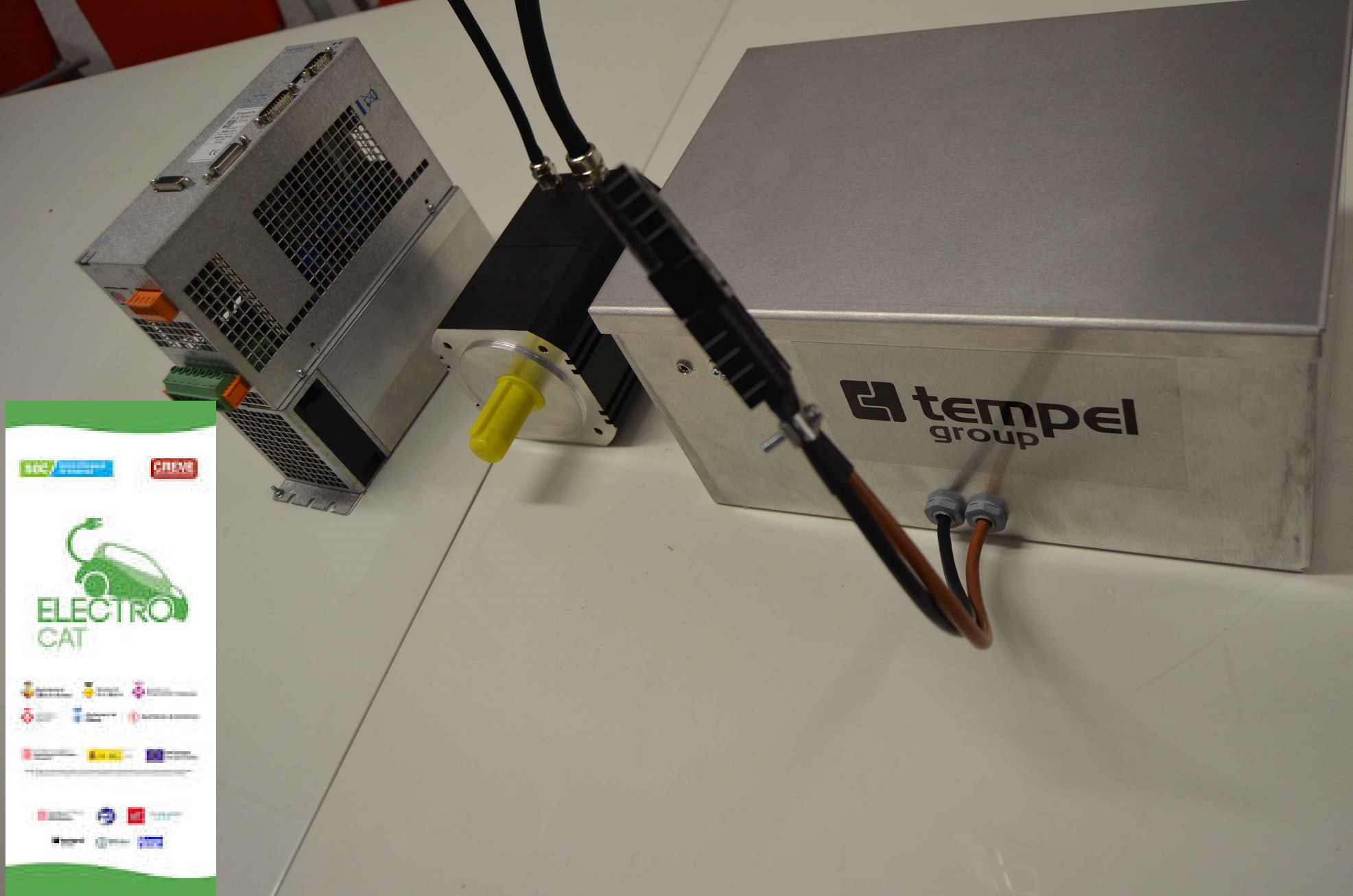 Comencem a treballar amb el vehicle de l'ELECTROCAT