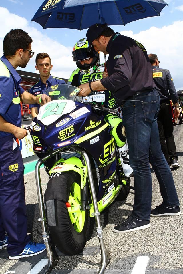 Gran carrera de Borja Sánchez, segon a Imola (Itàlia) en el Mundial de Superbikes