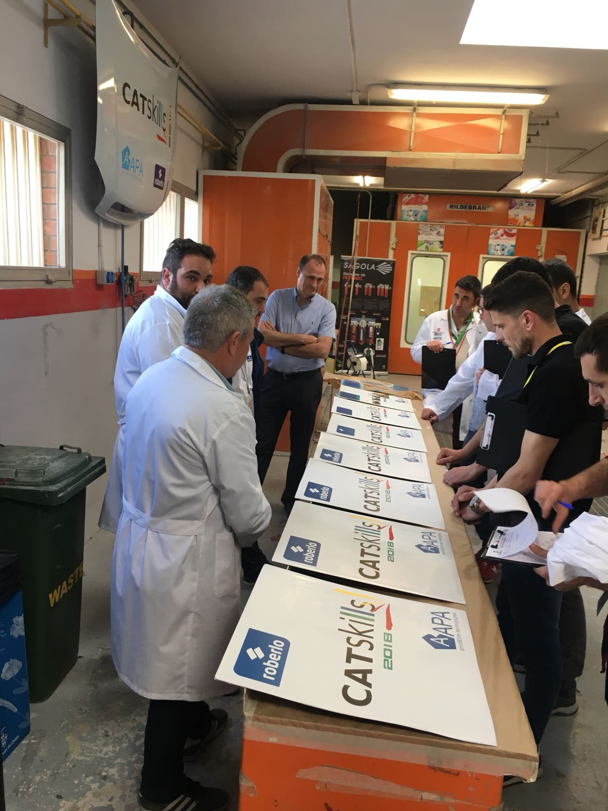 L'Escola Tècnica Girona, Campiona de Catalunya en el CatSkills 2018