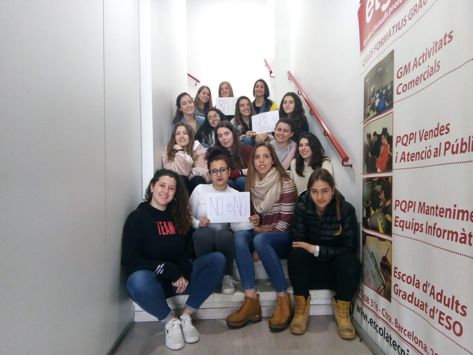 Escola Tècnica Girona s'uneix al Dia Internacional de la Dona!