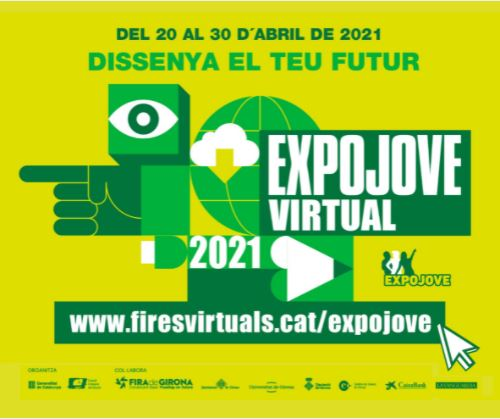 Expojove 2021 virtual del 20 al 30 d'abril de 2021