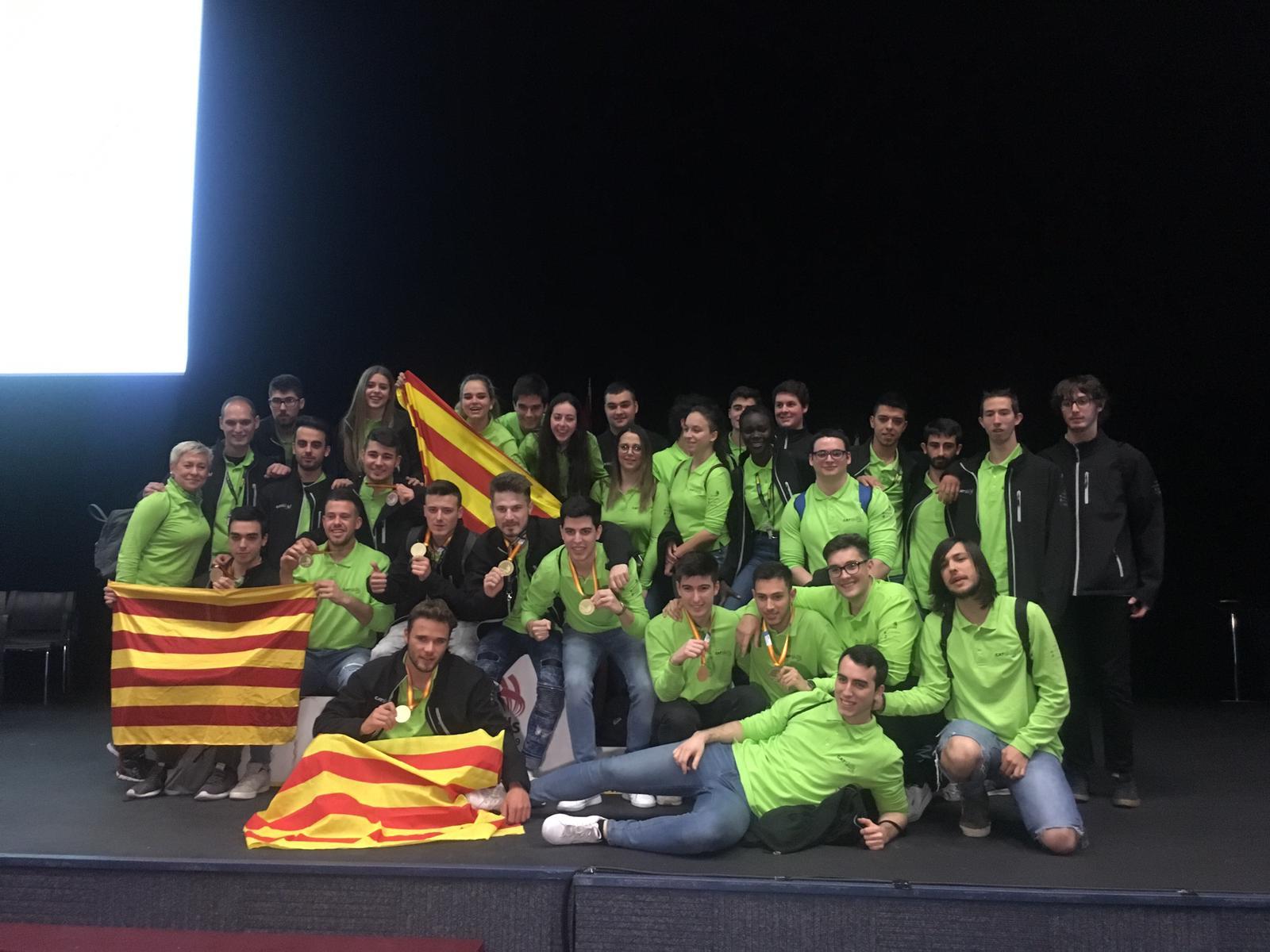 Gabriel Tudor guanya la medalla d'or en l'SpainSkills 2019!