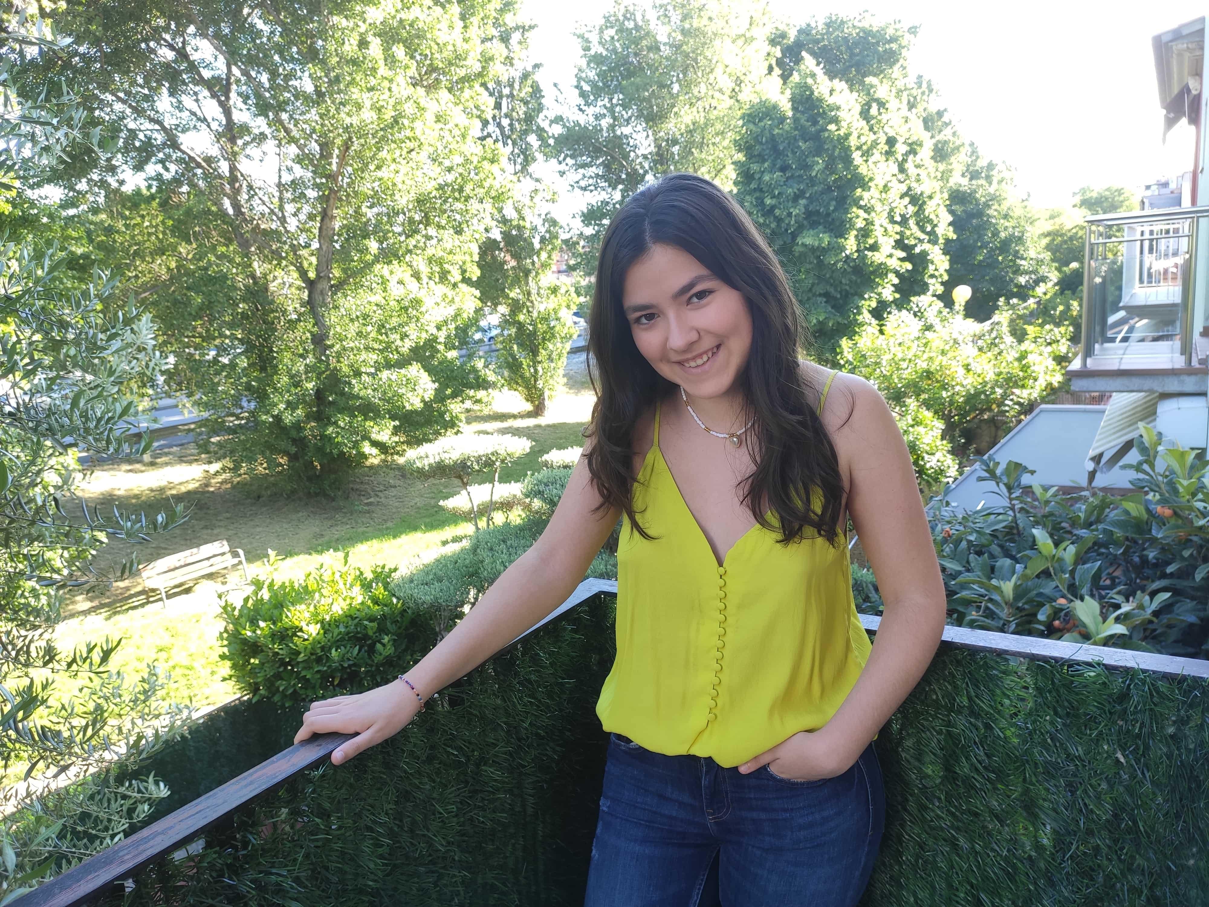 La alumna de la ETG Marta Guerrero, ganadora del VI premio Bachillerato de EAE Business School