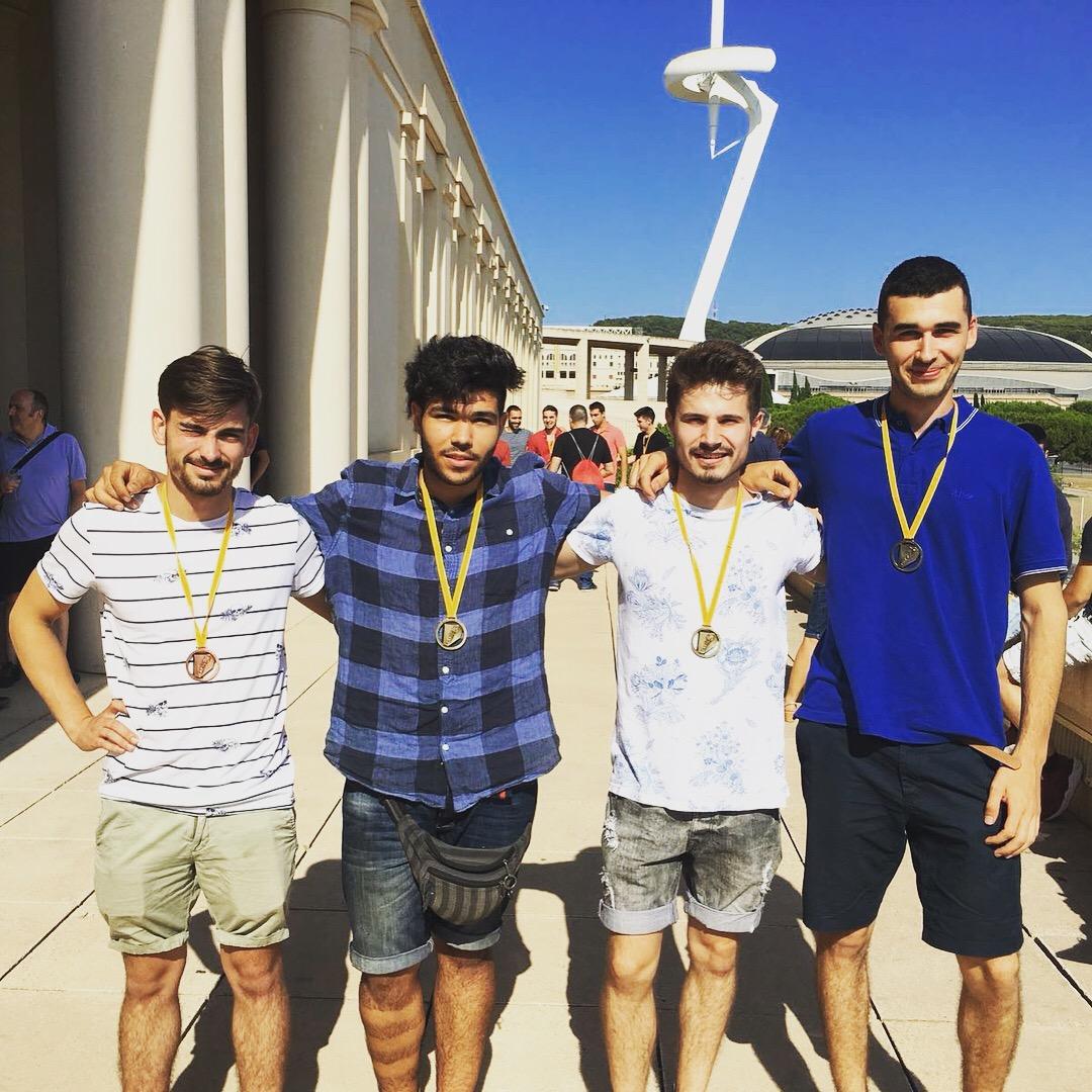 Els nostres alumnes ja han rebut les medalles del Campionat de Catalunya del Catskills 2018