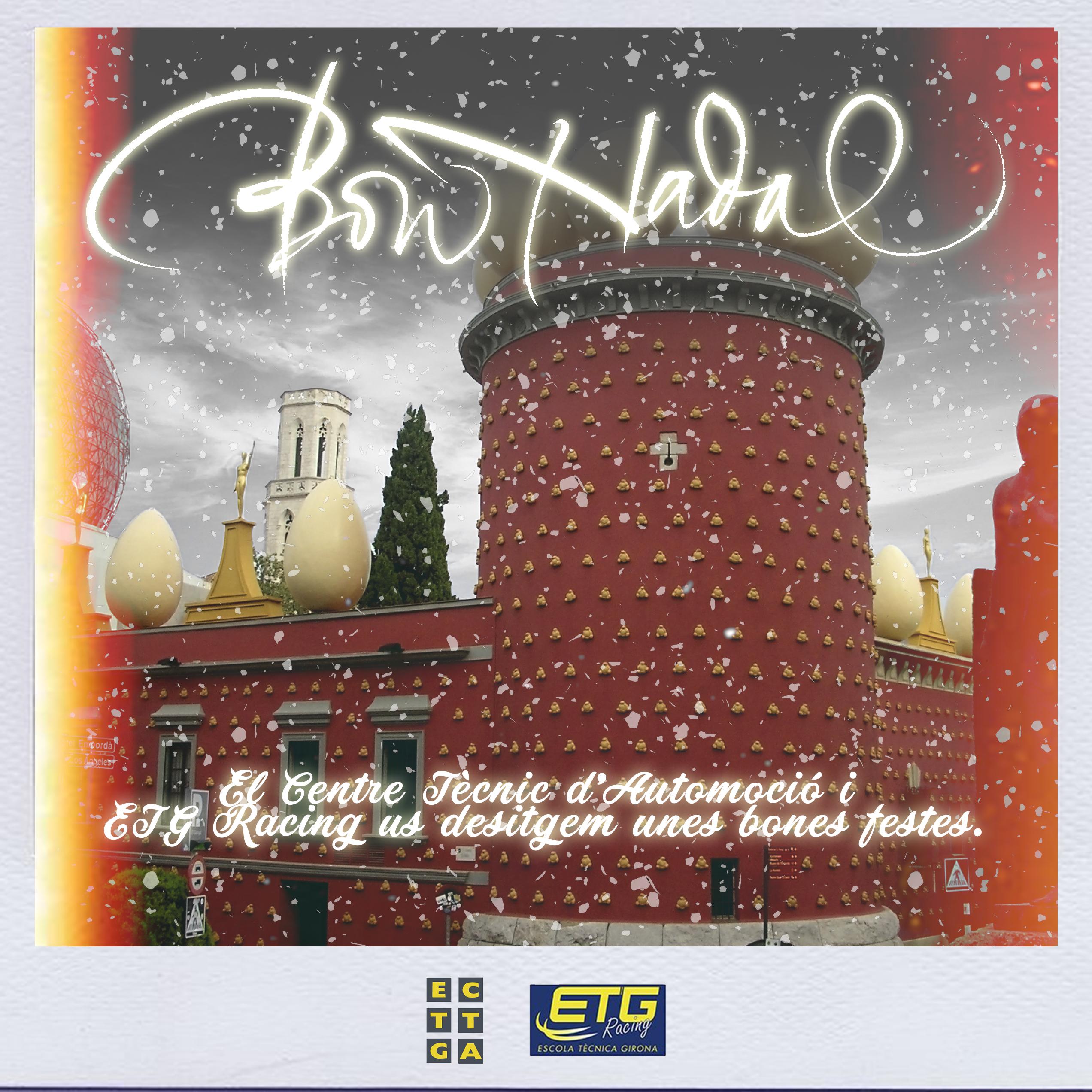 ETG i CTA us desitgen un Bon Nadal i un Feliç Any Nou