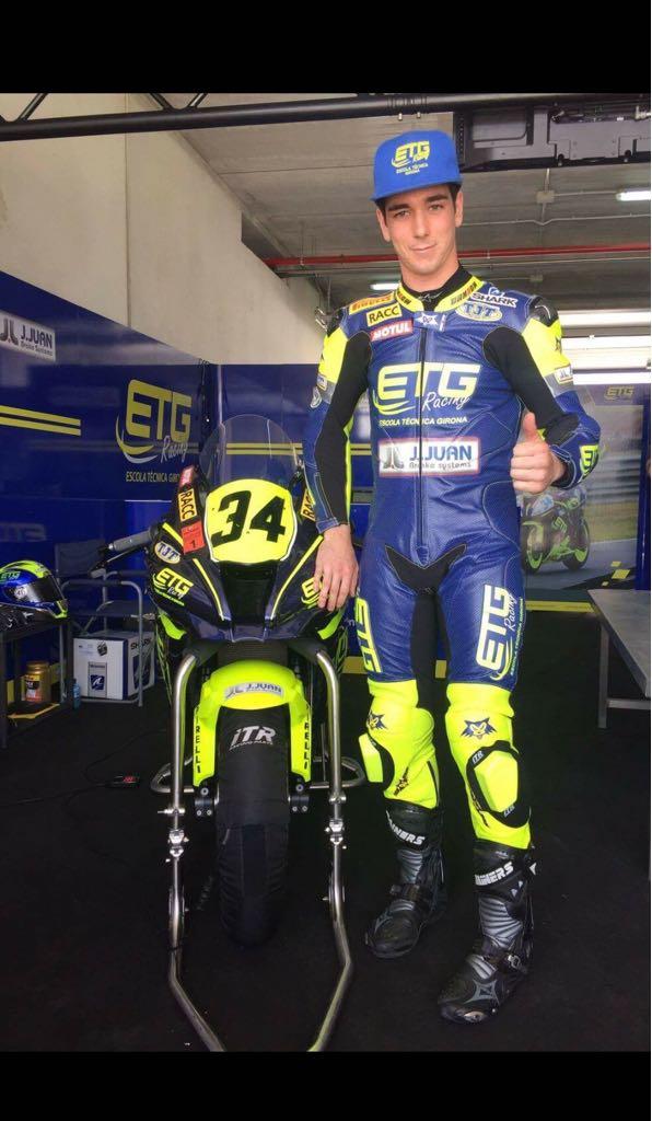 Entrevista a Xavi Pinsach, pilot d'ETG Racing (Escola Tècnica Girona)